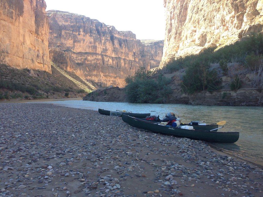 Boquillas Canyons - Rio Grande River