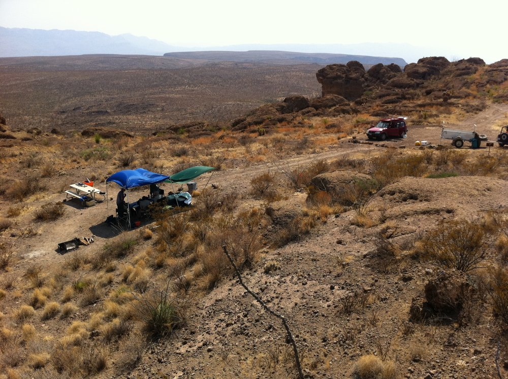 Our Campsites - Big Bend Ranch