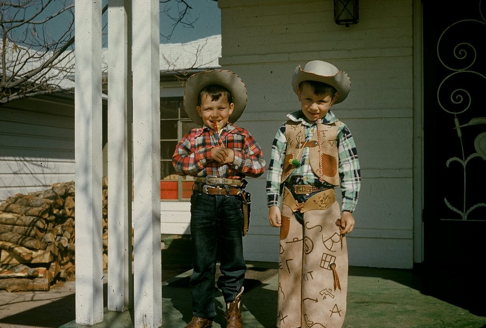 Alan & Lloyd cowboys