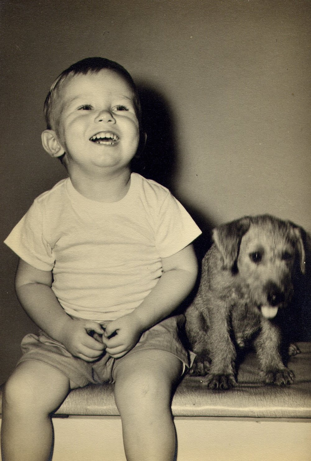 Lloyd & first dog