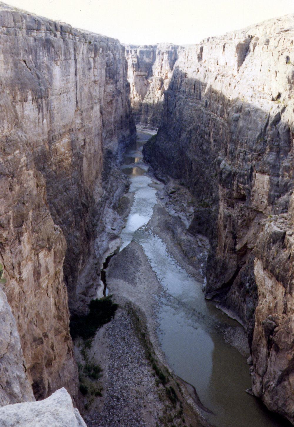 Santa Elena Canyon, Rio Grande