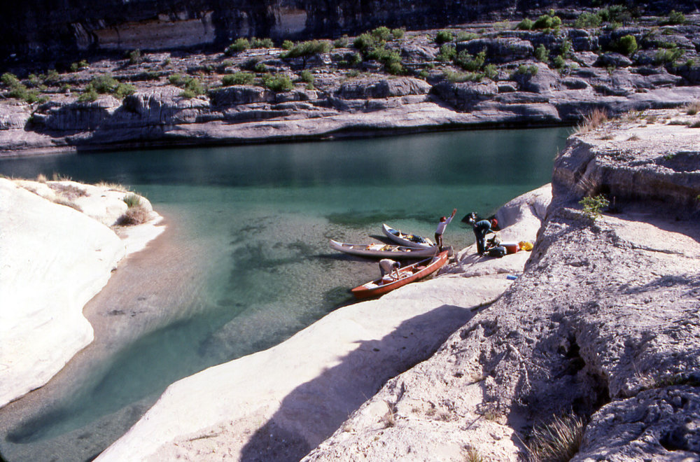 Painted Canyon, Pecos River