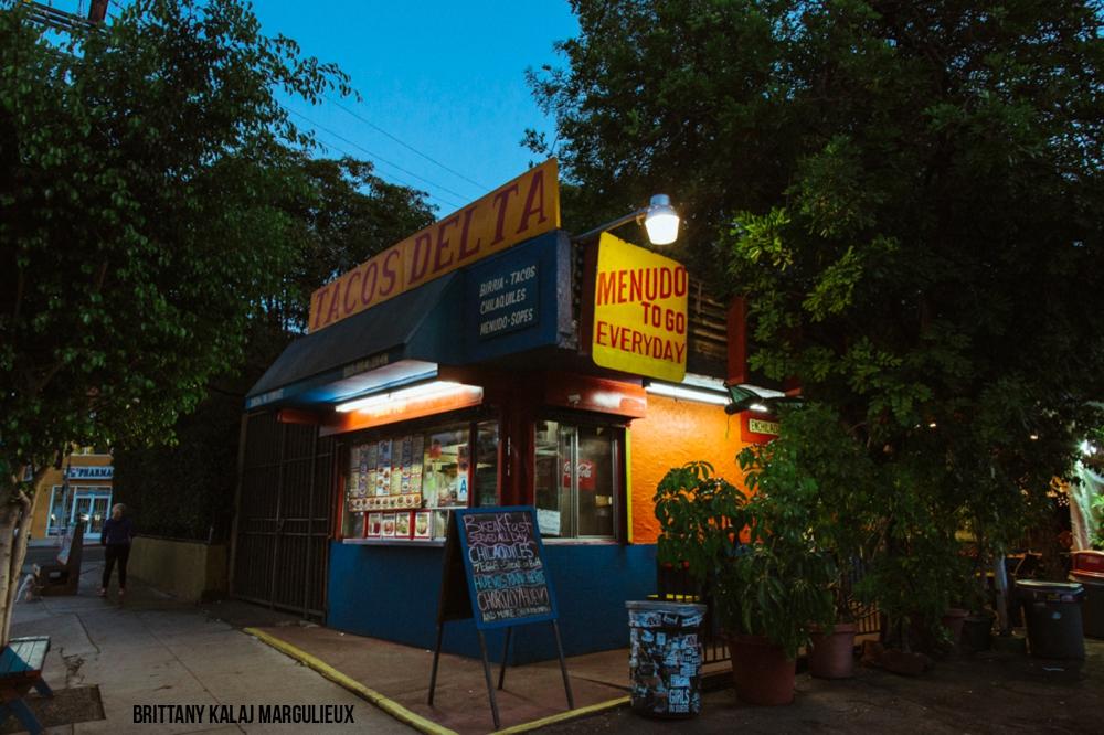 Tacos Delta. Silver Lake, Los Angeles.