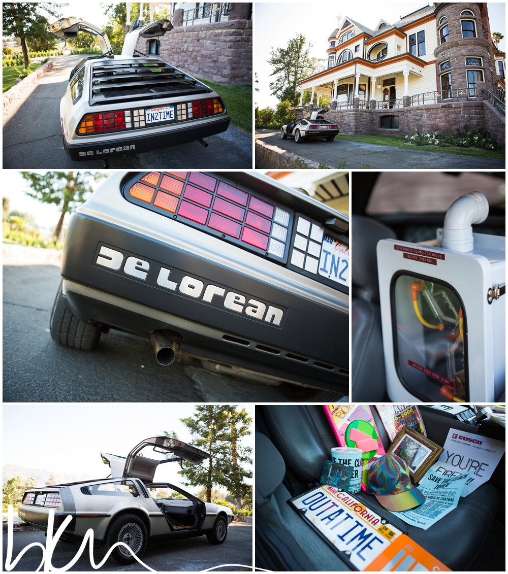 >>the groom loved back to the future!<<