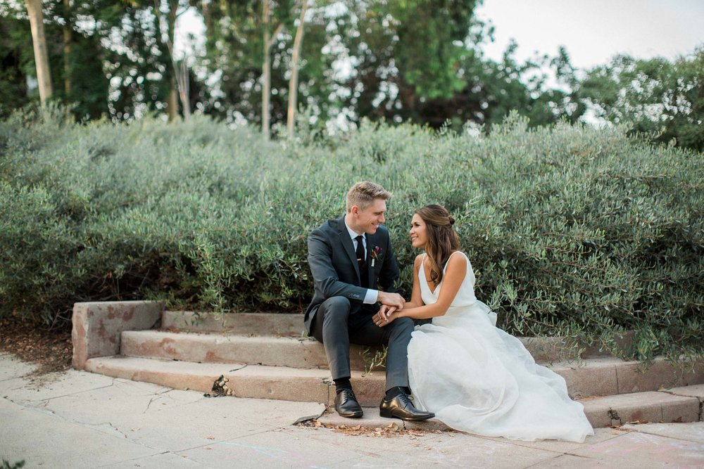 BKM Photography Highland Park Los Angeles Backyard Wedding