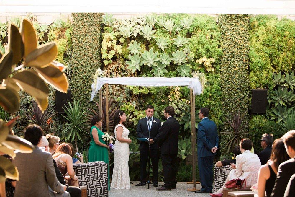 Marvimon SmogShoppe Wedding, Culver CIty