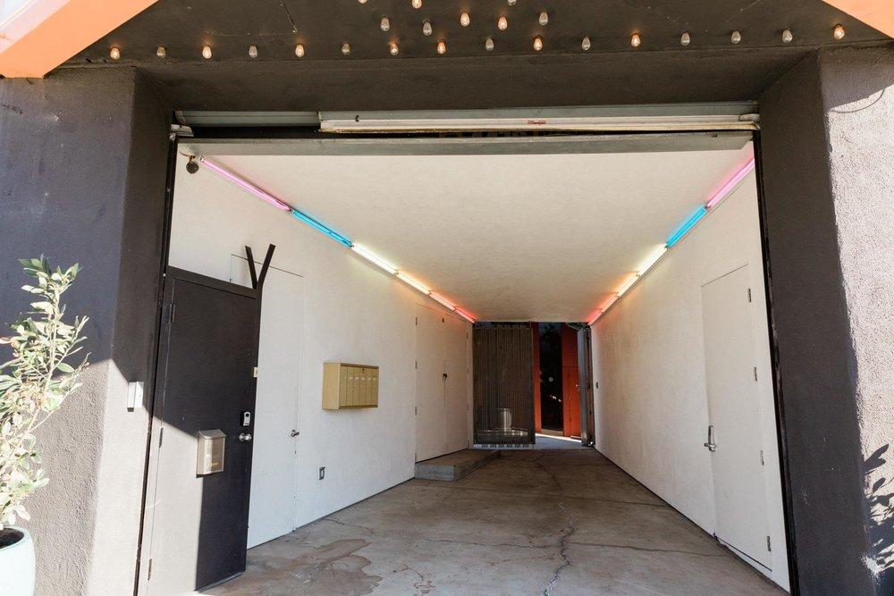Kim Sing Theatre entrance hallway