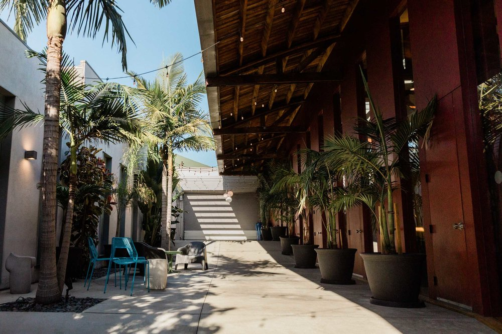 Kim Sing Theatre courtyard