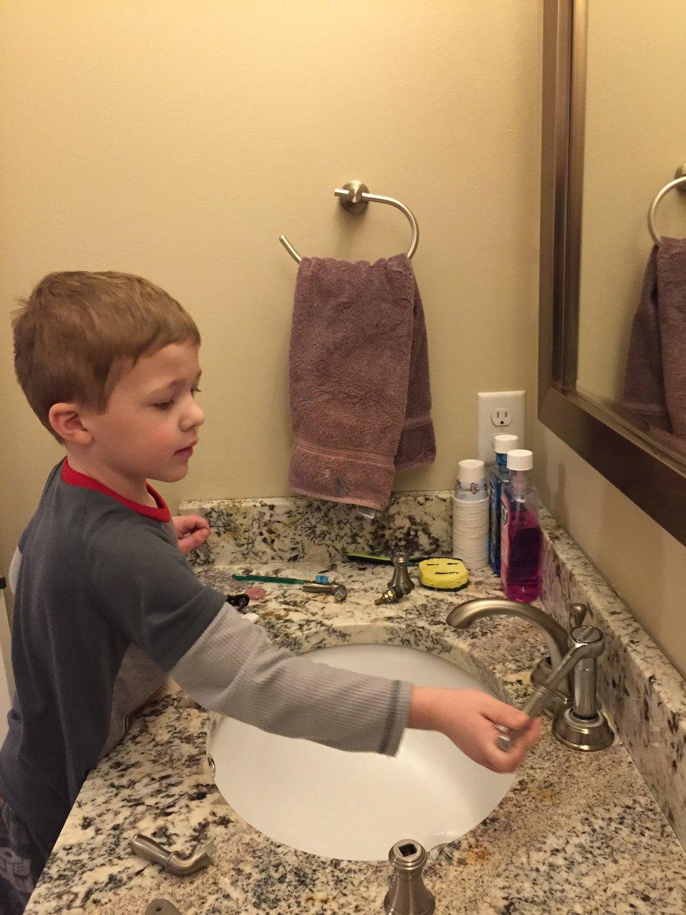 kid plumber