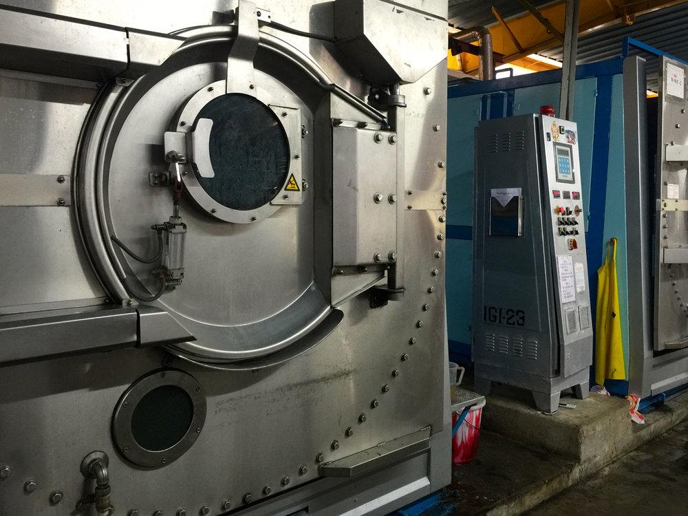 Tolkar dyeing machines