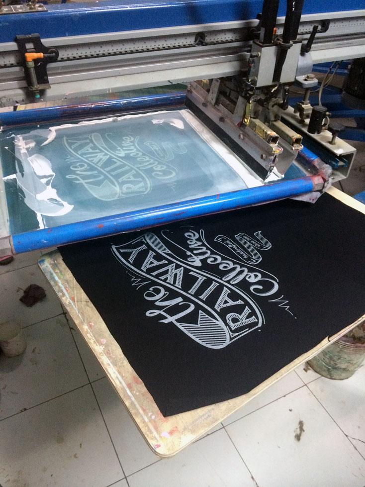 10-color M&R screen-printing machine