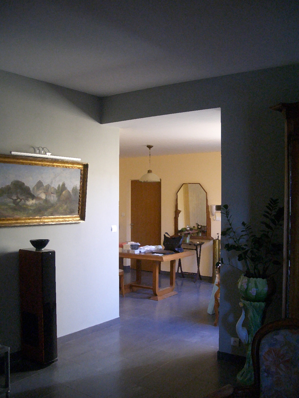 ​​The plot of land is not large so we developed the house in harmony with the garden to create a seamless experience as you walk through this slice of country side. They will enter from the street through a gate opening into a wooded area planted with camellias, azaleas and rhododendrons. They will then reach a clearing facing the house. As they enter the house, they will see the garden that extends beyond the living area at the back of the property. In the foreground is a meadow and the background is planted with a screen of pine and other dune vegetation as if the sea was just beyond.