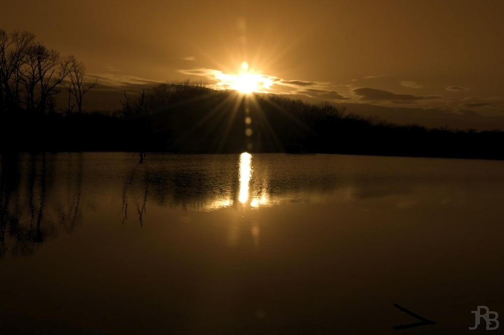 Sepia Sunset