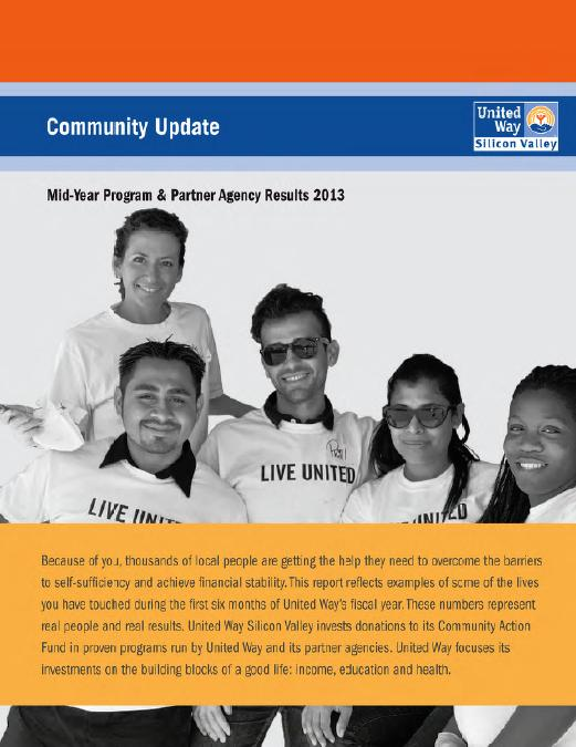UW Silicon Valley - Community Update Report title page.JPG