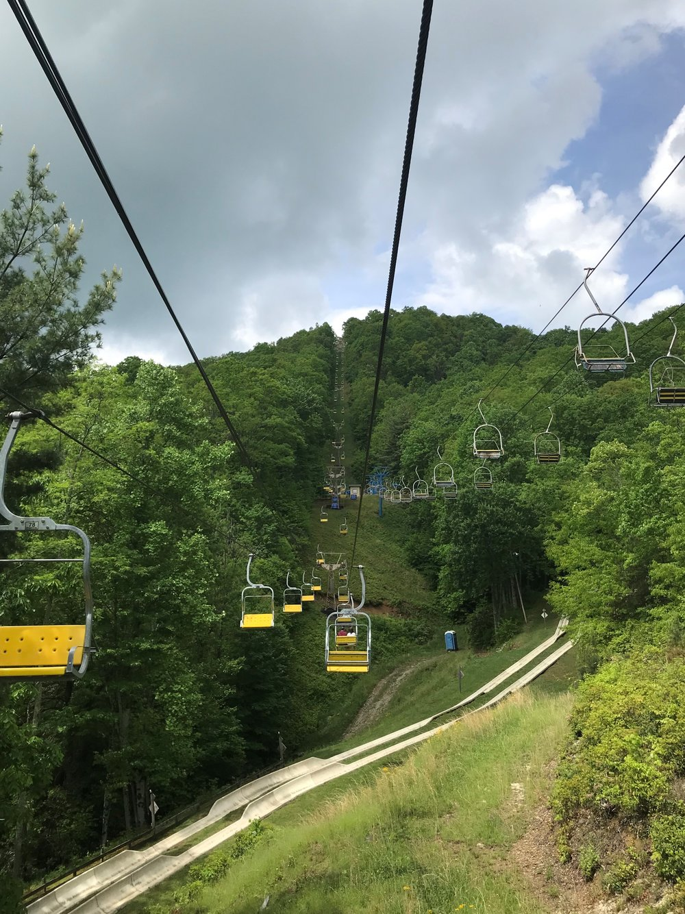 scenic chairlift - Ober Gatlinburg