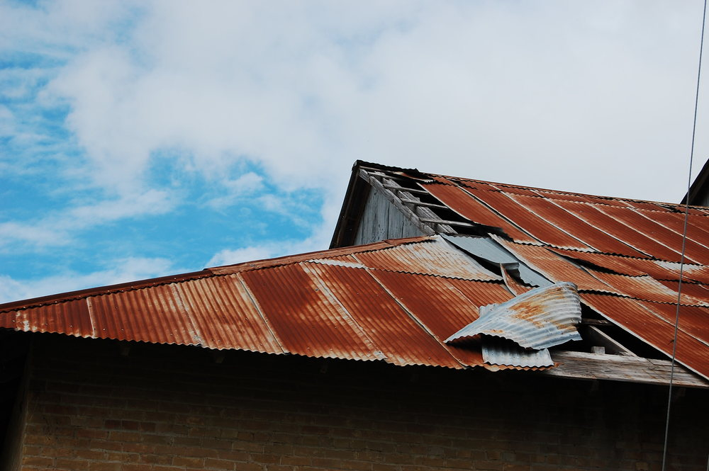Rusted Roof © David Nittler