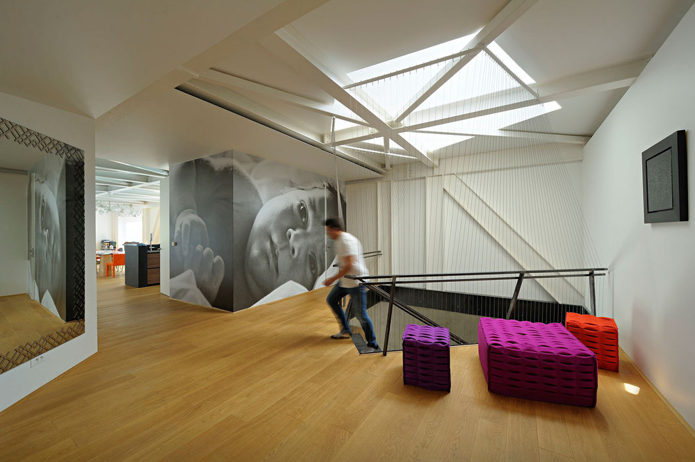 interior open plan entry space for Nest and Cave House Croatia.jpg