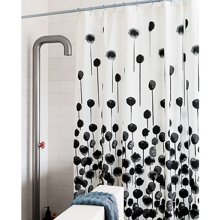 Unusual Shower Curtains Black And White Images