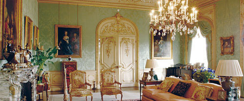 Television's Downton Abbey: Highclere Castle, Drawing Room