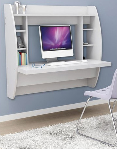 Floating desk (Prepac)
