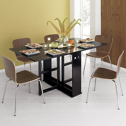 Span Gateleg dining table (Crate and Barrel)