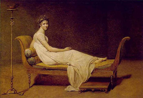 Madame Recamier by Jacques Louis-David