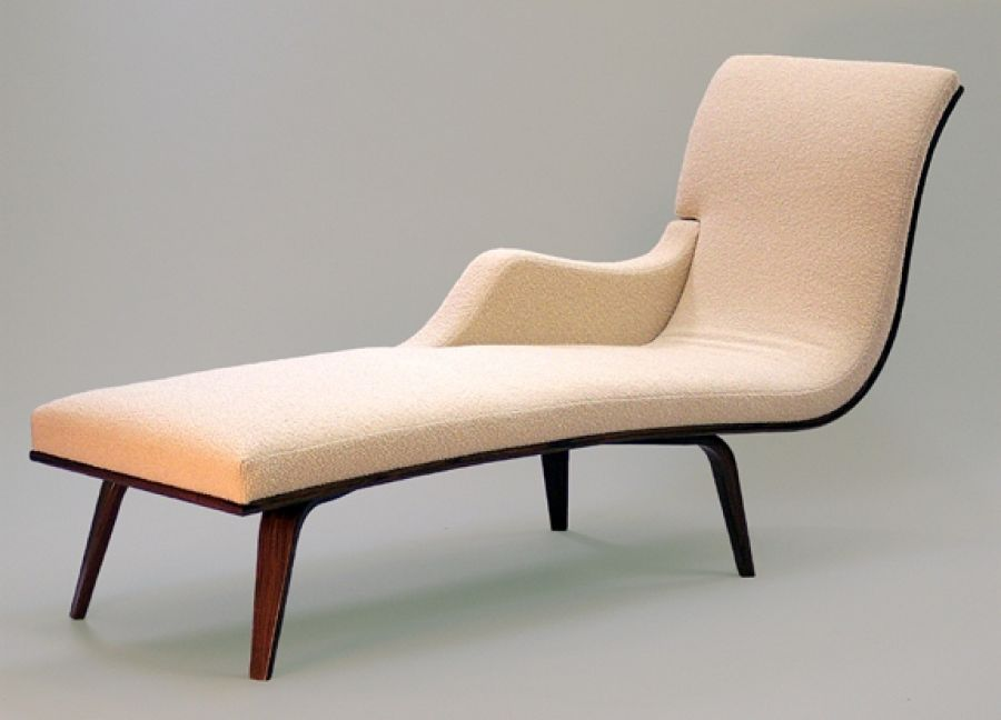 Chaise by Curtis Erpelding from Northwest Woodworkers' Gallery