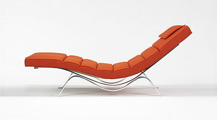 Chaise lounge #5490 by George Nelson