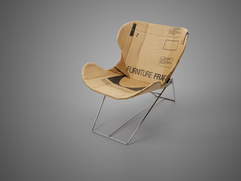Dan Goldstein design re-ply chair made from recycled cardboard.jpg
