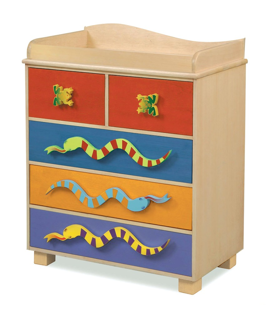 Little Lizard 5 Drawer Kid's Chest from Room Magic