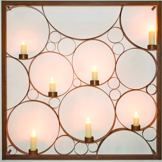 Entanglements wall art large bubble candle holder panel.jpg