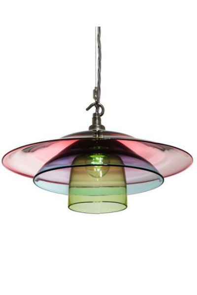 Hand Blown Glass Dine Light