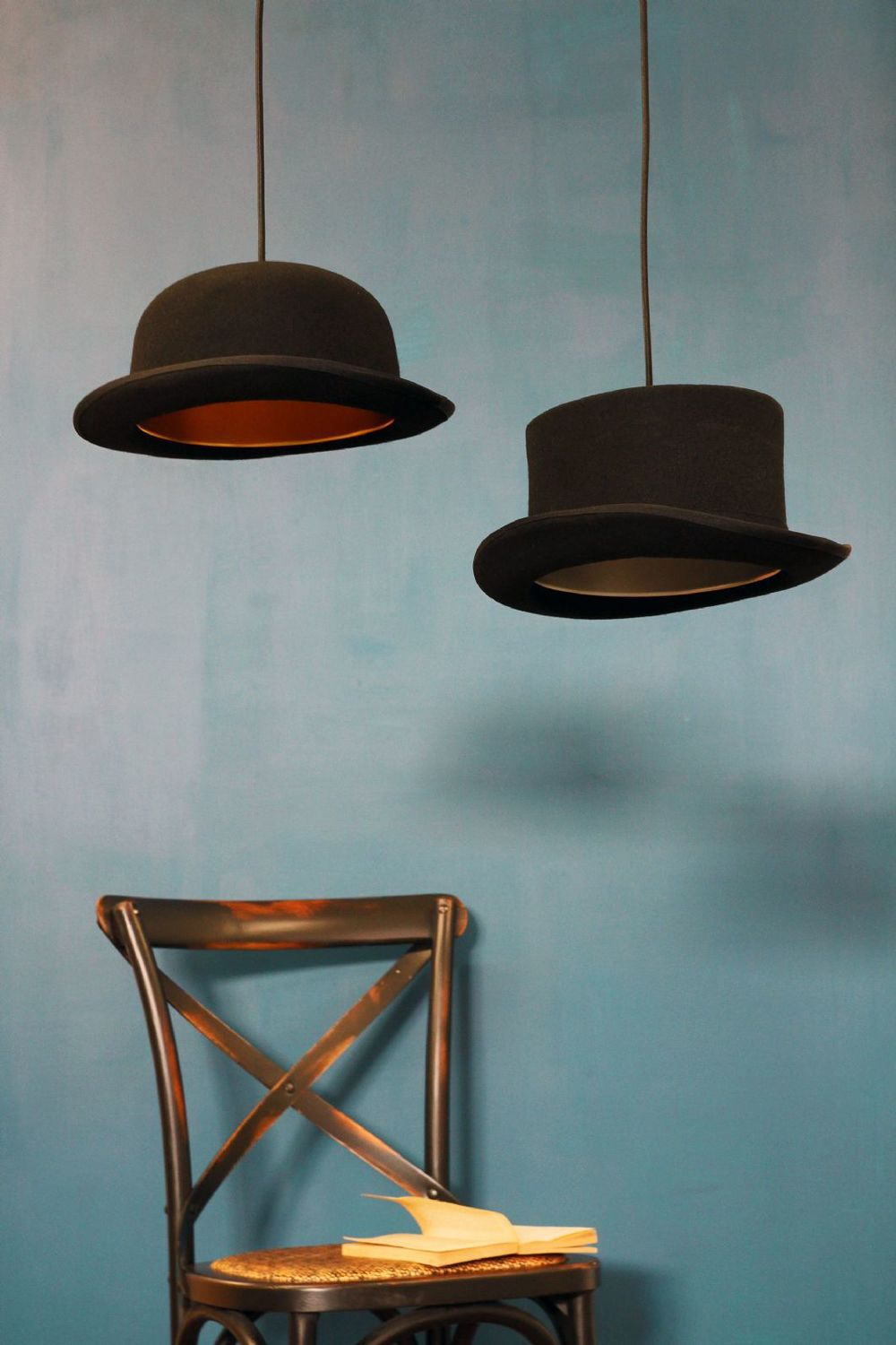 Wooster Top Hat Pendant Lights