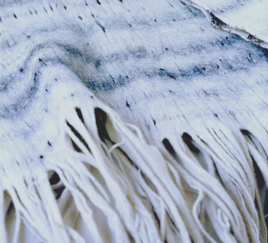 Felt throw and other stunning home textiles by Hiroko Takeda