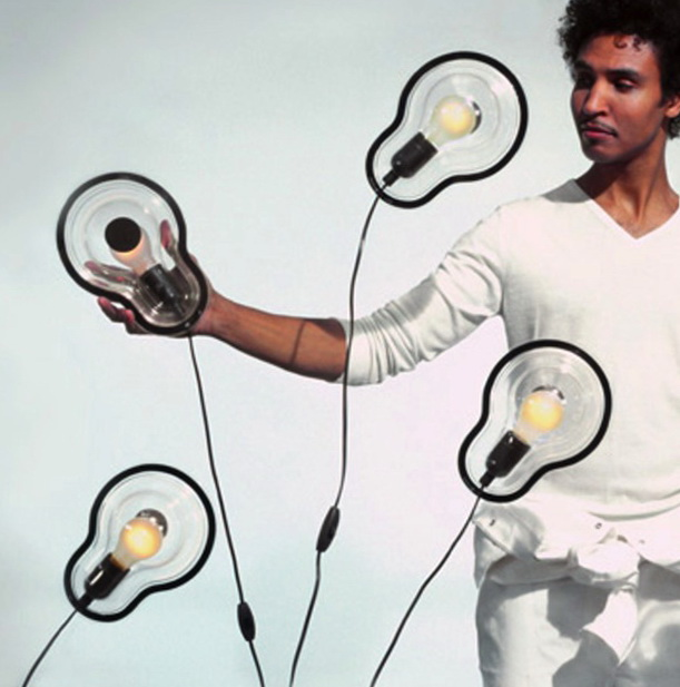 Chris Kabel's ingenious Sticky Lamp
