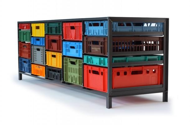 Mark van den Gronden's Crates cabinet