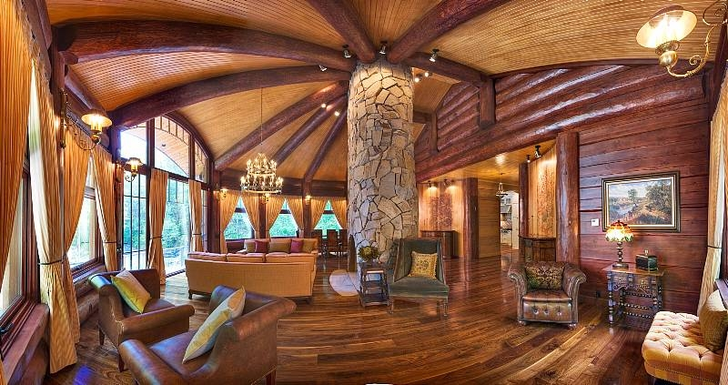 Irwin Weiner Interiors Luxe Cabin Irwin Weiner Interiors