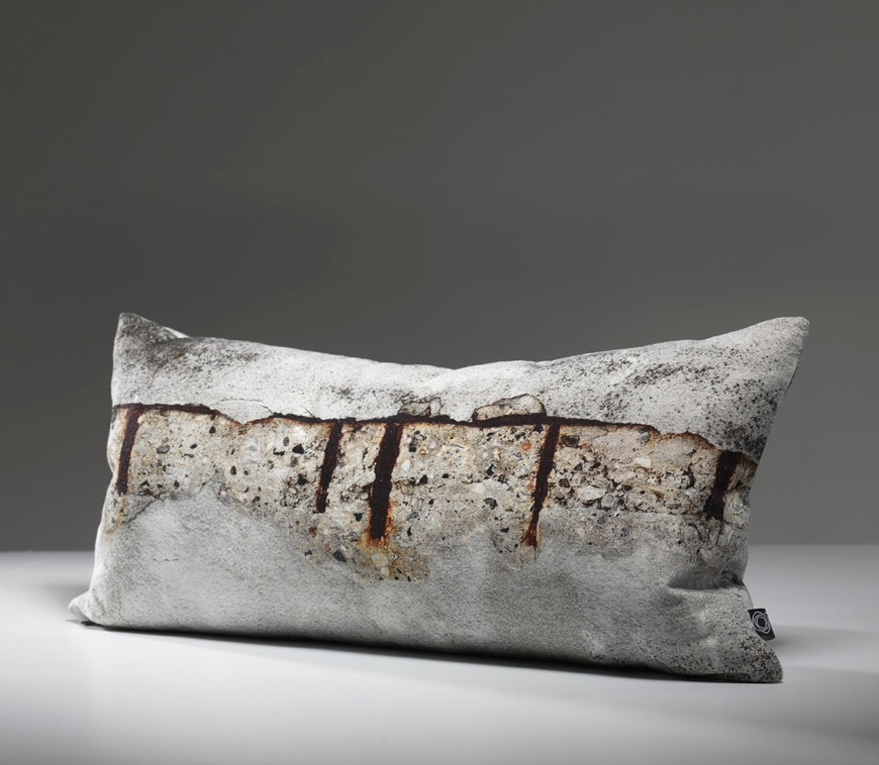 A concrete cushion - now you've seen everything.
