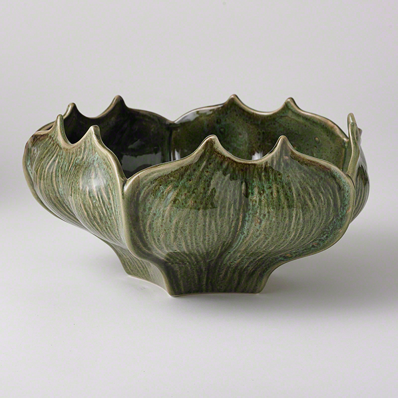 Star Fruit Bowl (reactive green) from Studio A