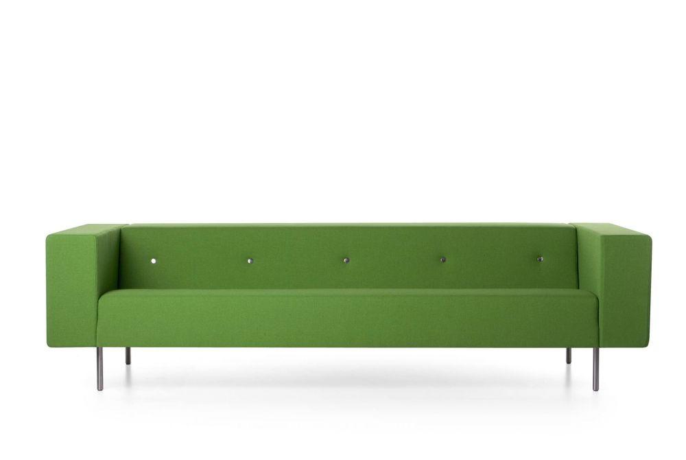 Bottoni Sofa in shelf green by Marcel Wanders for Moooi