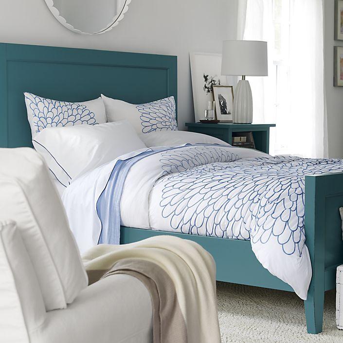 Italian Handmade Casual: Harbor Blue King Bed