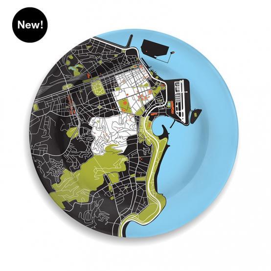 Rio de Janeiro Creative Capitals city plate from notNeutral
