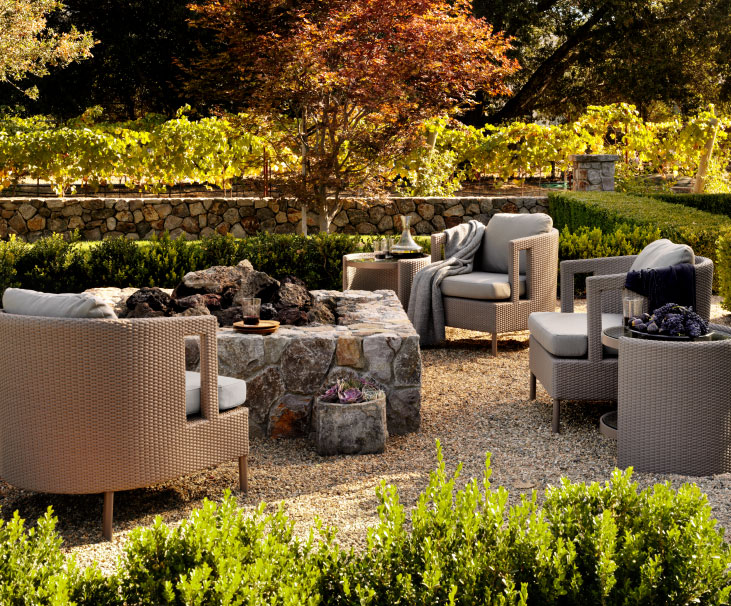 Barbara Barry Outdoor Collection from McGuire Furniture