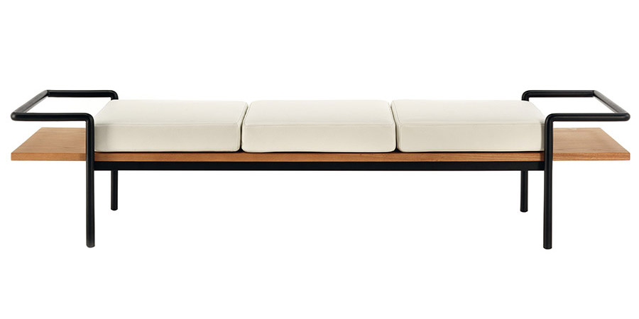 T904 backless sofa by Gastone Rinaldi
