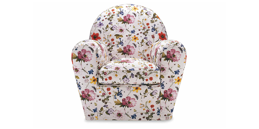 Housse upholstered chair