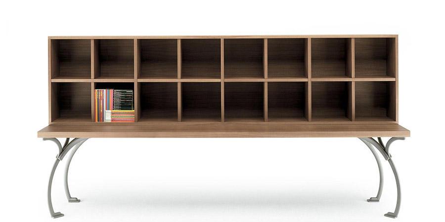 Sangirolamo Bookcase by designers Achille Castiglioni and Michele De Lucchi