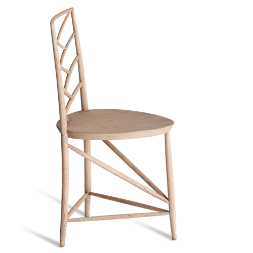 Herringbone Triwood Chair from Porta Romana