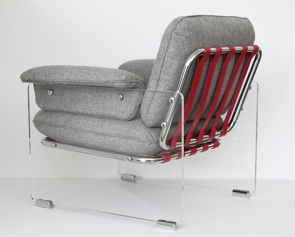The Original: Argenta Lucite Lounge Chair from the Pace Collection (1970s)