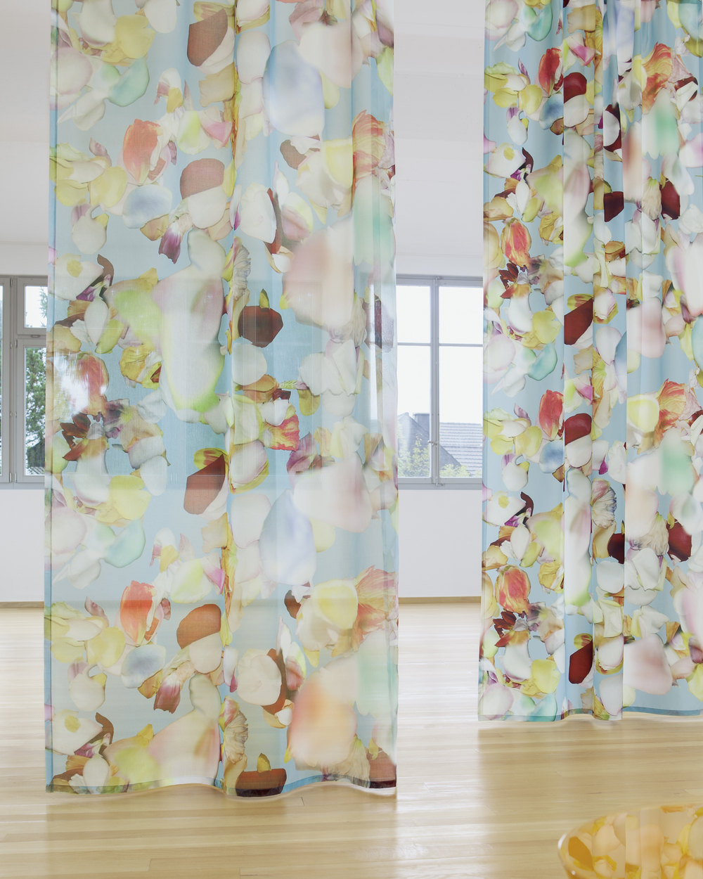 Blossom S transparent curtain fabric from Creation Baumann