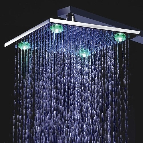 LED shower head by Fontana